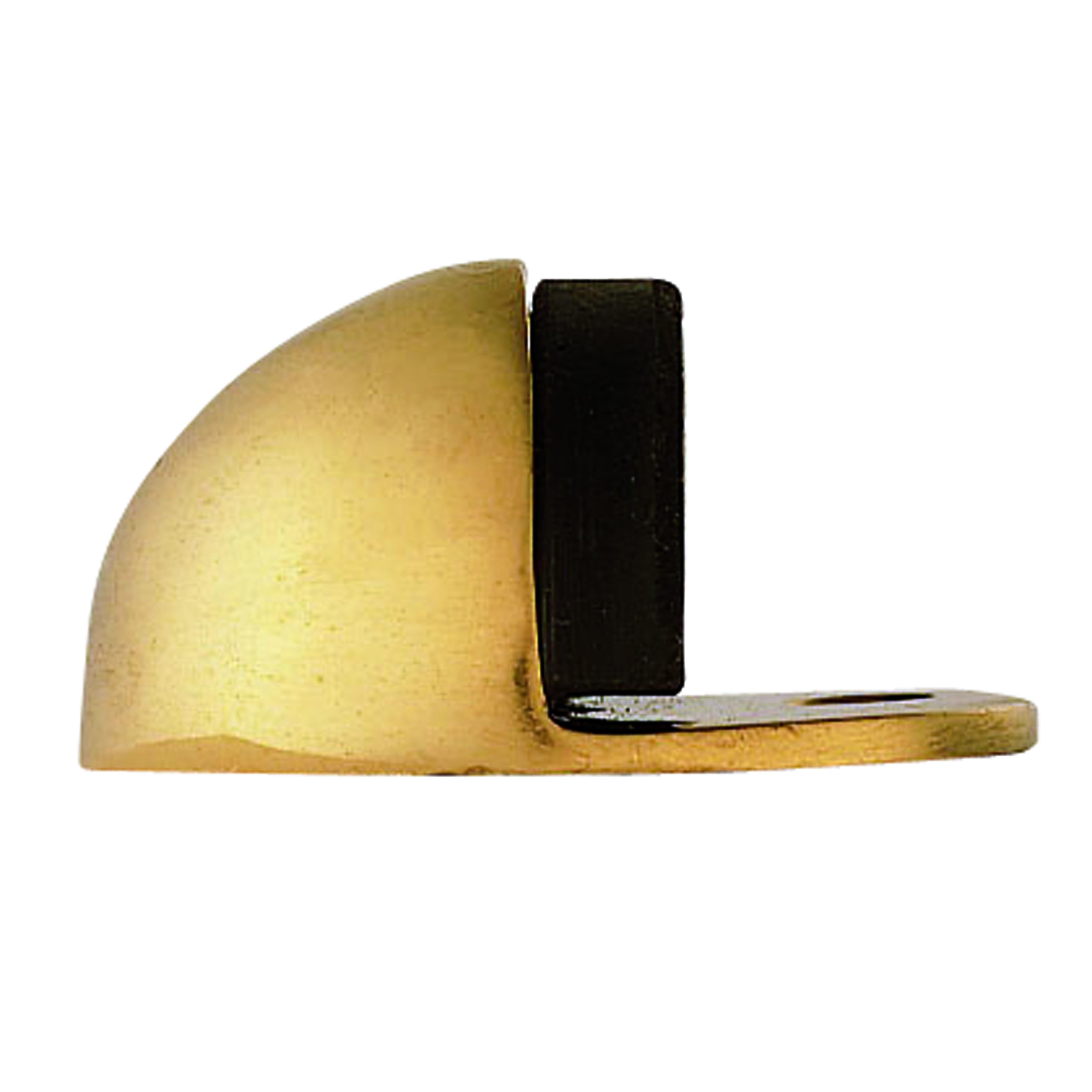 door stop floor mounted oval l nwtt. Black Bedroom Furniture Sets. Home Design Ideas