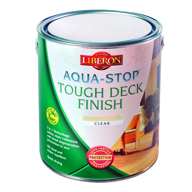 Aqua-Stop Tough Deck Finish 2.5L