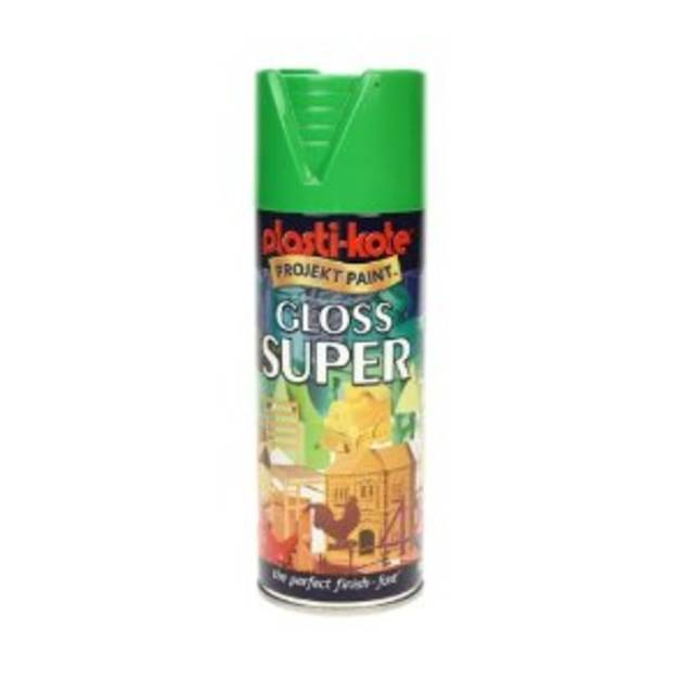 Plasti-Kote Project Paint Gloss Super 400ml