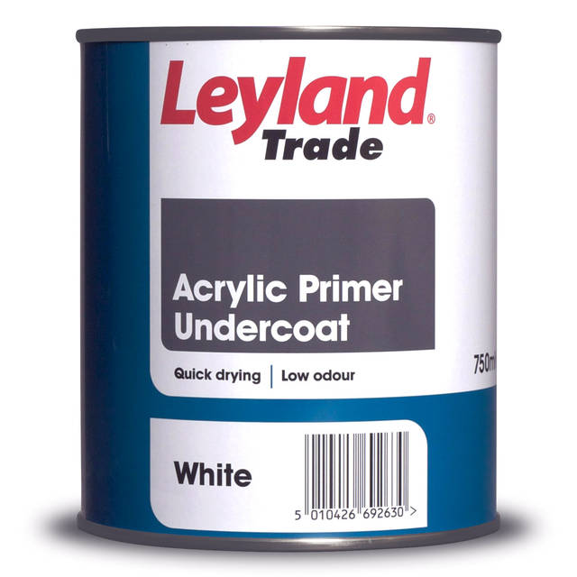 Acrylic Primer Under Coat - White