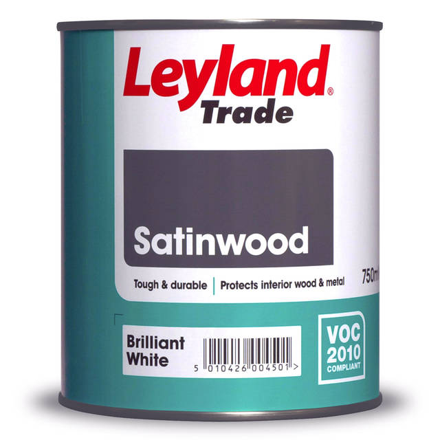 Satin Wood Brilliant White