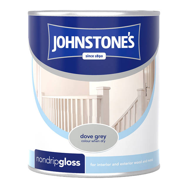 Johnstones Non Drip Gloss 750ml