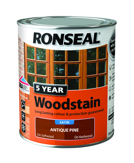 RONSEAL 5 YEAR WOODSTAIN ANTQIUE PINE