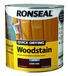 RONSEAL QUICK DRYING WOODSTAIN 2.5L DARK OAK