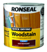 RONSEAL QUICK DRYING WOODSTAIN 2.5L DEEP MAHOGANY