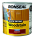 RONSEAL QUICK DRYING WOODSTAIN 2.5L MAHOGANY