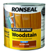 RONSEAL QUICK DRYING WOODSTAIN 2.5L NATURAL OAK