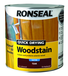 RONSEAL QUICK DRYING WOODSTAIN 2.5L TEAK