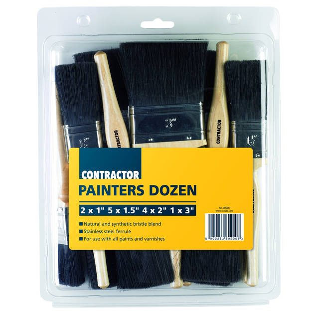 T-Class Decorator 5 Paint Brush Set