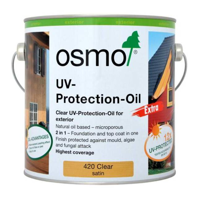 Osmose UV Protection - Clear Satin