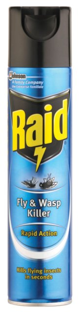 Fly & Wasp Killer Raid Spray