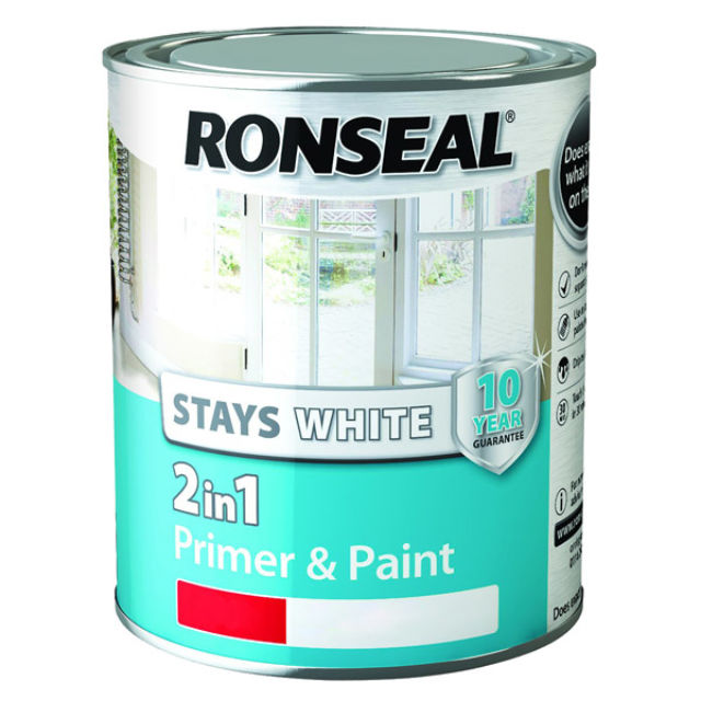 Ronseal Stays White 2 in 1 Gloss