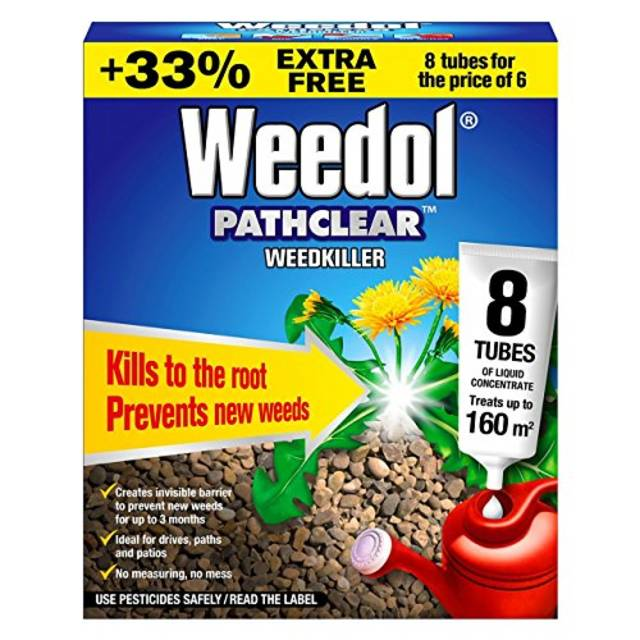 Path Clear Weed Killer (8 Tubes Liquid Concentrate)
