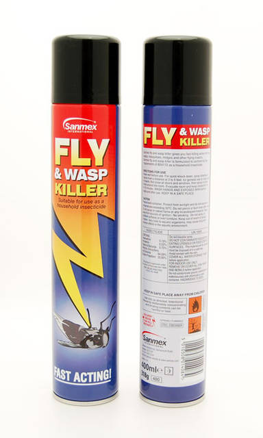 Fly & Wasp Killer Spray