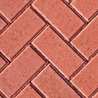 50mm Block Paving Red