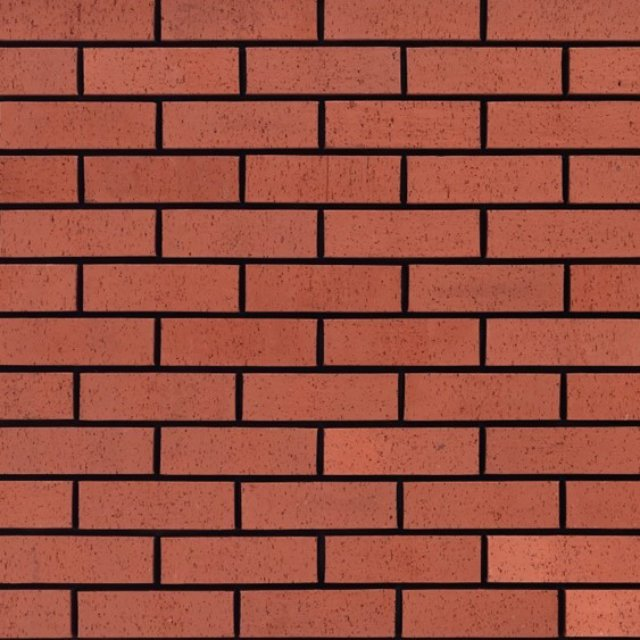 65mm Red DragFace Brick
