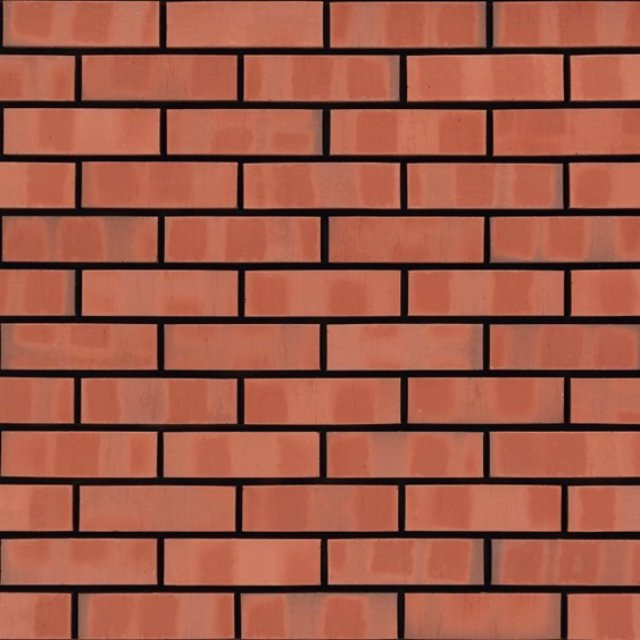65mm Victorian Red Multi Smooth Brick