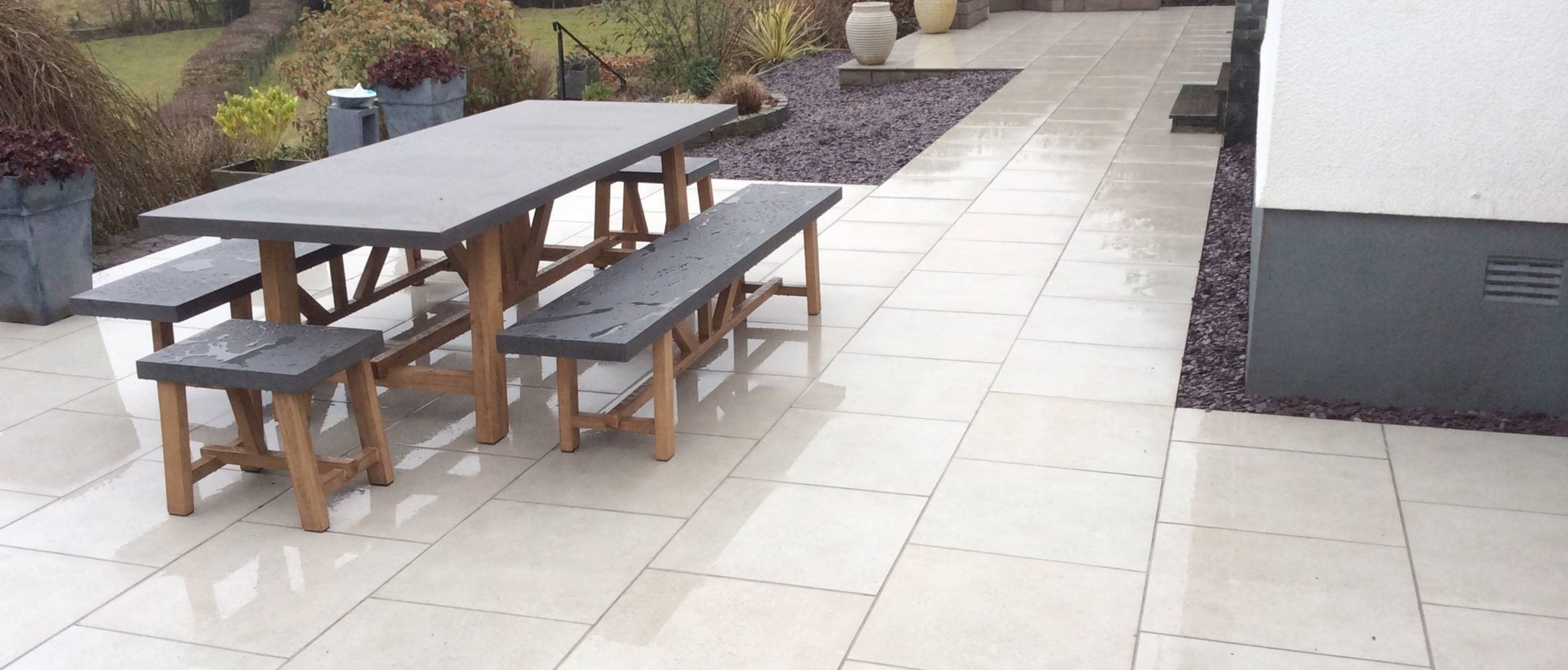 Porcelain Paving: The Villa Collection