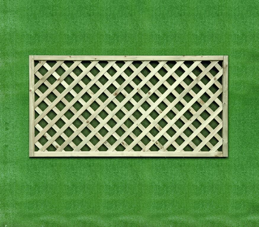 Heavy Duty Diamond Lattice Rectangle