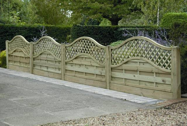 Arched Panels