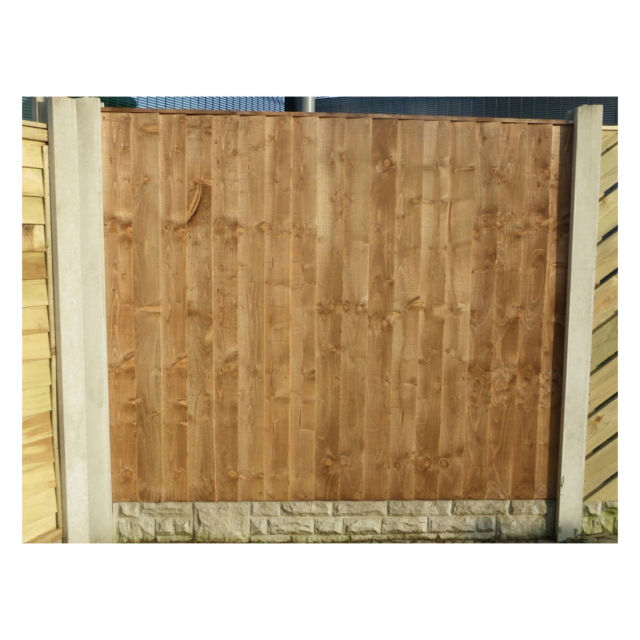 Heavy Duty Vertical Weatherboard Fence Panel