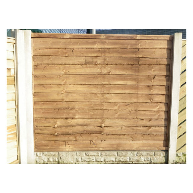 Economy Waney Lap Fence Panel