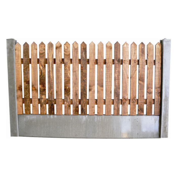 Pointed Picket Panel