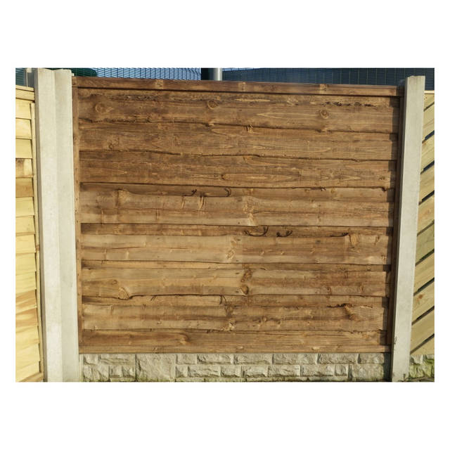 Heavy Duty Waney Fence Panel