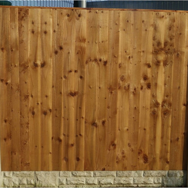 "Economy Vertical Weatherboard ""BETA""  Fence Panel"