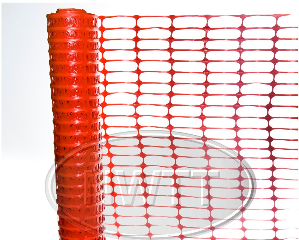 Orange Windbreak Fencing