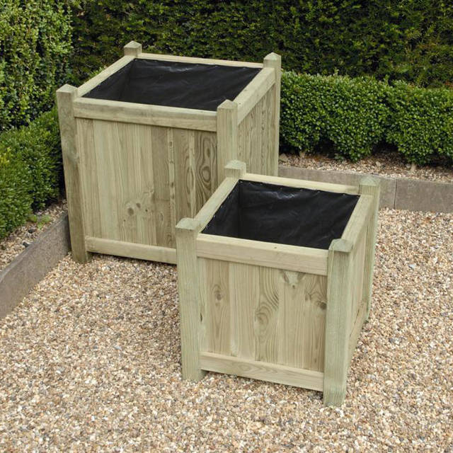 Square Planter Set