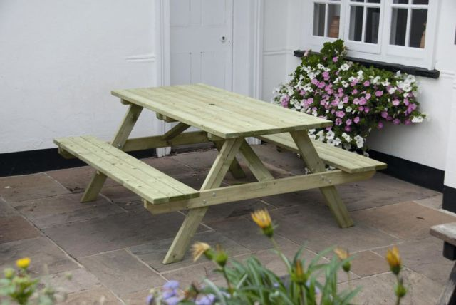 1.5m Standard 'A' Frame Picnic Table