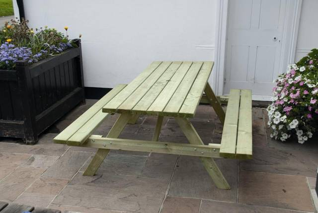 1.8m Standard 'A' Frame Picnic Table