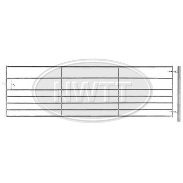 Heavy Duty Metal Galv Gate