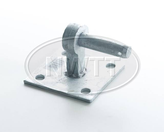 Gate Hanger On Square Plates
