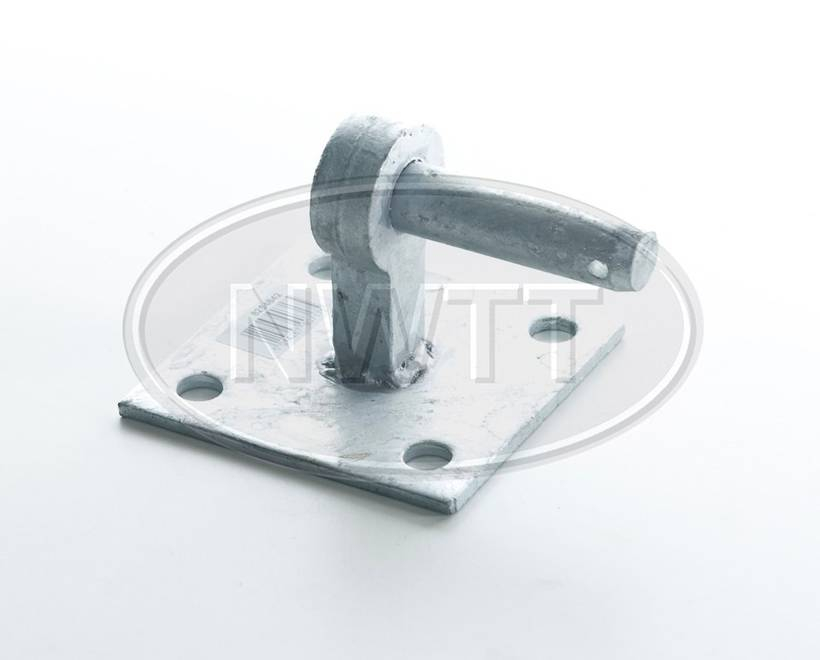 Gate Hanger On Square Plate