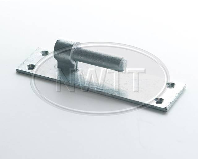 Gate Hook on Oblong Plate