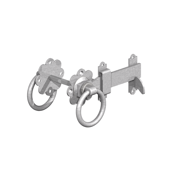 Ring Gate Latch