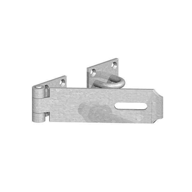 Heavy Safety Patt. Hasp & Staple