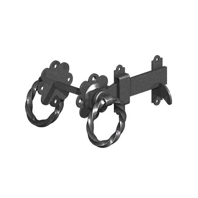 GM Twisted Ring Gate Latches