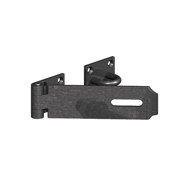 GM Heavy Safety Patt. Hasp & Staple