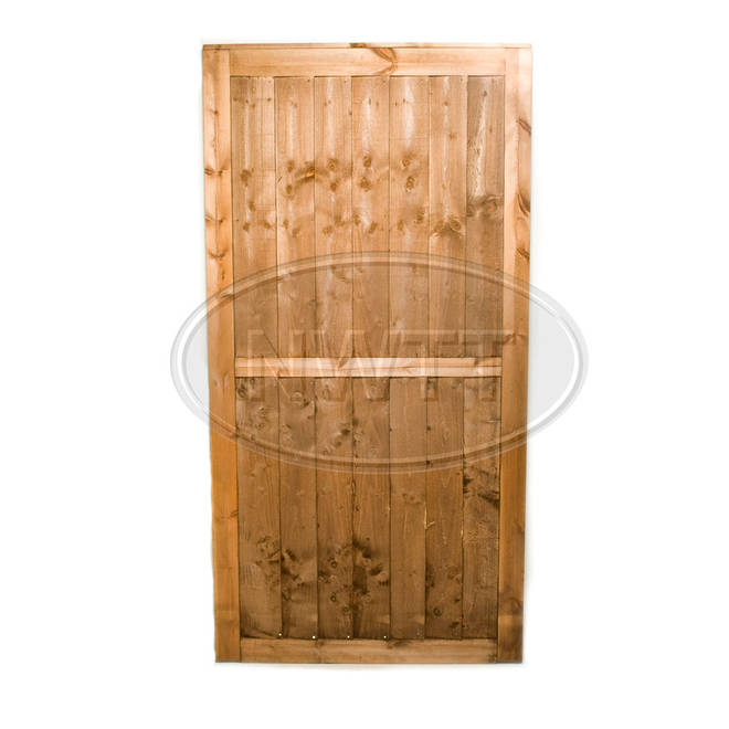 Vertical Weatherboard Gate
