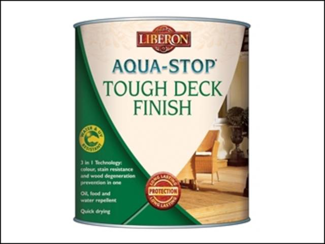 Aqua-Stop / Advanced Protection Tough Decking Finish