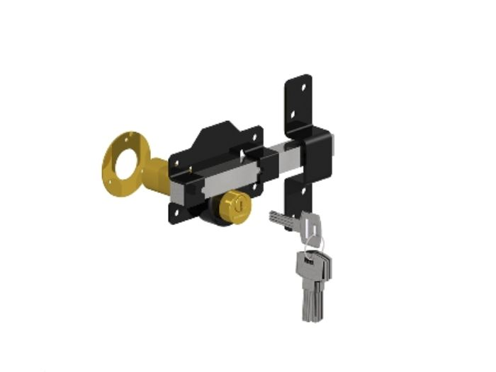 Long Throw Lock - Key Lockable from Both Sides