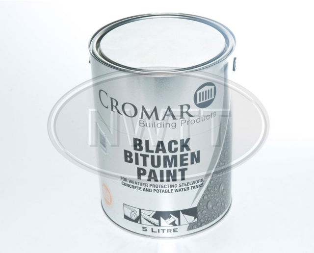 Cromar Black Bitumen Paint