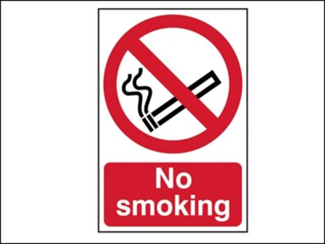 No Smoking - PVC