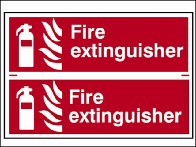 Fire Extinguisher - PVC
