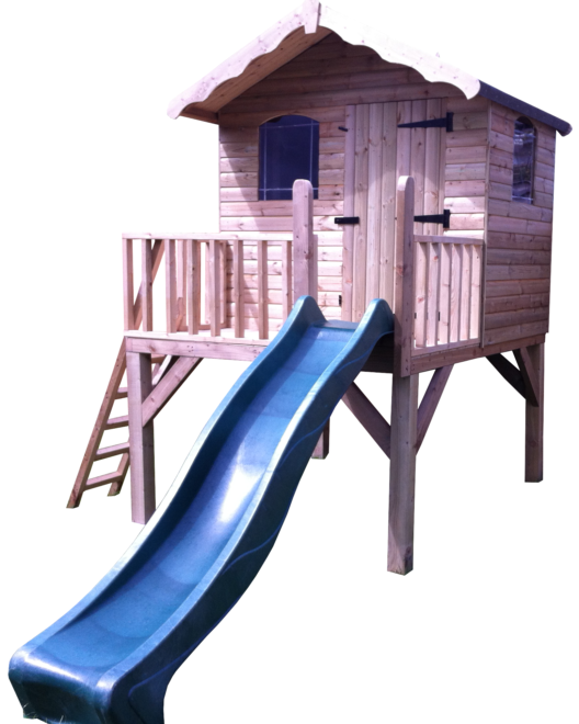 Ollie Playhouse (with slide) (SH7X6OPHT)