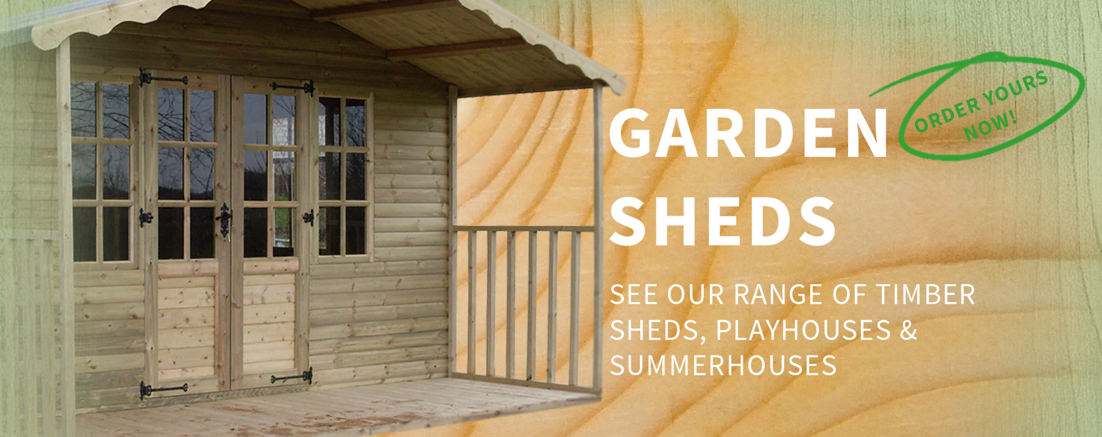 See our large range of garden sheds north west, playhouses and summerhouses, wooden sheds and small sheds included, perfect for garden storage