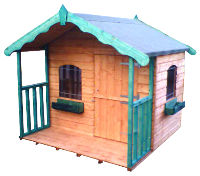 Swiss Chalet Playhouse (SH6X4CPHT)